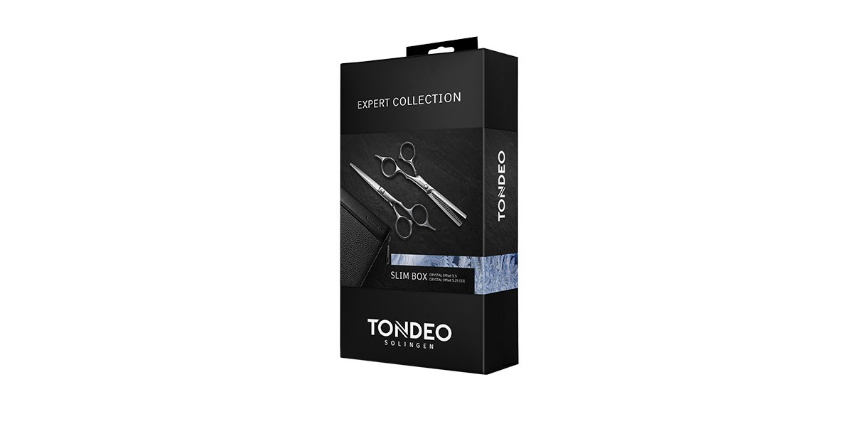 Hairdressing scissors set TONDEO SLIM BOX