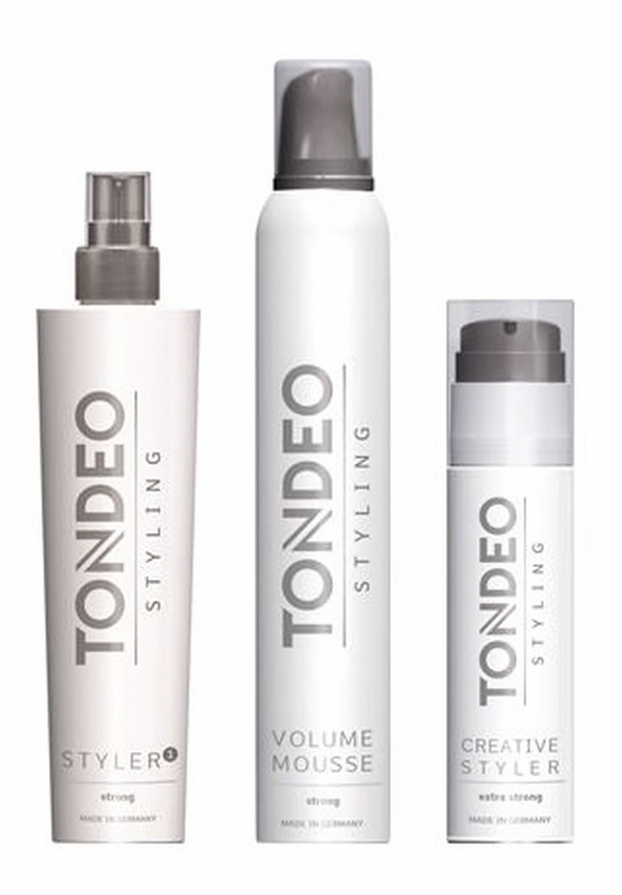 Hairstyling Testpackage 3 Pieces Set TONDEO