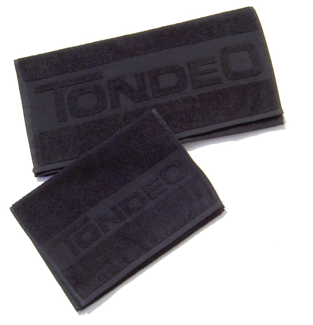 Hair Towel Black TONDEO Small