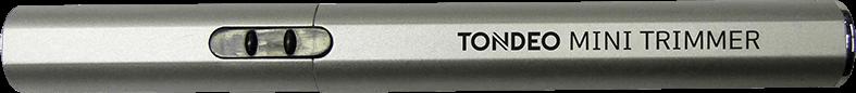 Minitrimmer Haarschneidemaschine TONDEO ECO MINI TRIMMER SILVER