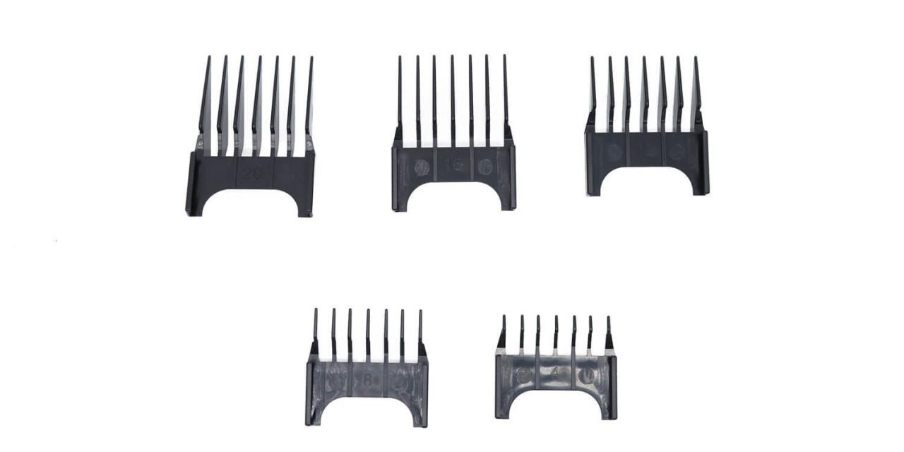 Attachment Comb Set TONDEO ECO L / BLACK PLUS