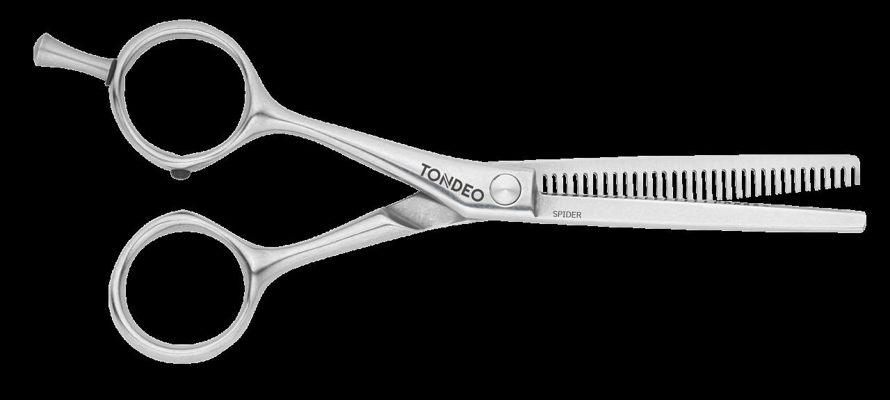 Modellierschere für Linkshänder SPIDER LEFT (33)