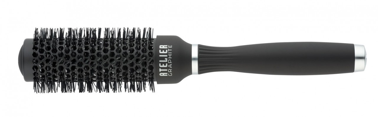 Round Hair Brush TONDEO ATELIER GRAPHITE S