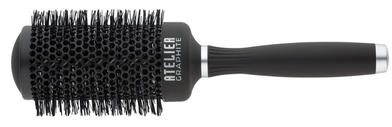 Round Hair Brush TONDEO ATELIER GRAPHITE L